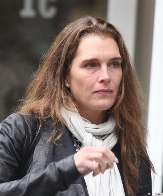 Brooke Shields, Without Makeup