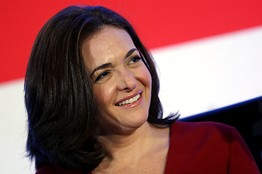 Associated Press Photo. Sheryl Sandberg, Author of Lean In
